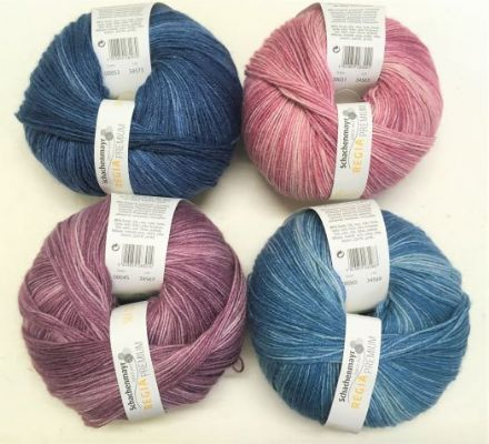 Regia Premium Silk Colour  wool polymide